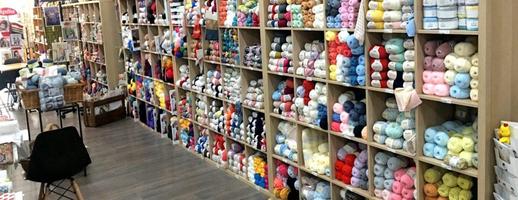 Ô Comptoir des Passions Villemur Sur Tarn Couture Broderie Tricot Crochet Laine DMC FONTY KATIA PLASSARD DMC-Salon de thé-Mercerie-Cafetricot -Villemur-sur-Tarn-