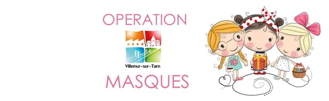 Opération Masques