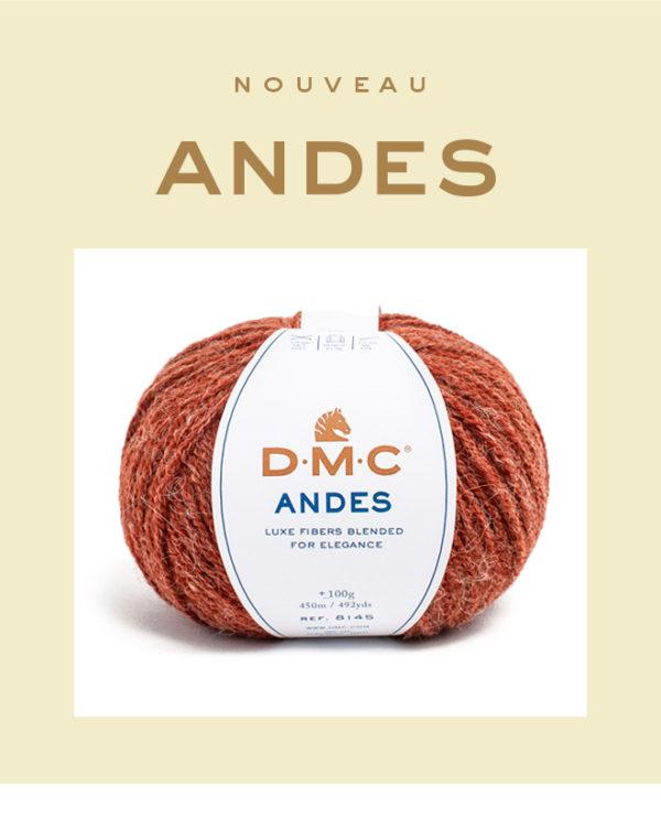 ANDES-laineDMC-OComptoirdesPassions-DMC-villemursurtarn