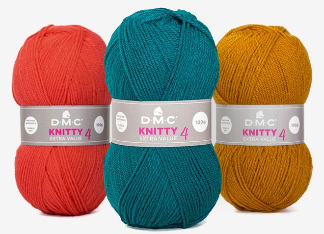 DMC-knitty4- Mercerie-OComptoirdesPassions Café-tricot-thé Villemur sur Tarn Laine Tricot DIY