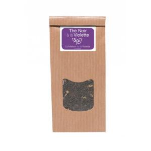Violette-sachet-de-the-noir-100g-a-la-violette-avec-fleurs-ocomptoirdespassions-villemursurtarn