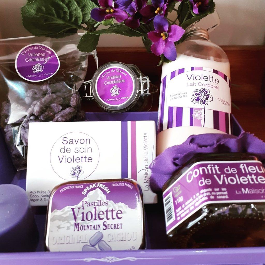 Violettes-toulouse-ocomptoirdespassions-villemursurtarn-produits-friandises