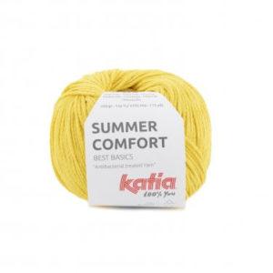 fil-summercomfort-tricoter-ocomptoirdespassions-villemursurtarn--viscose-polyamide-jaune-citron-printemps-ete-katia-