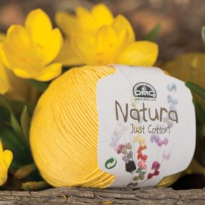 DMC-natura-dmc-coton-jaune-ocomptoirdes passions-villemursurtarn