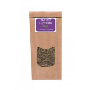 Violette-sachet-de-the-vert-100g-a-la-violette-avec-fleurs-maisondelaviolette-ocomptoirdespassions-villemursurtarn